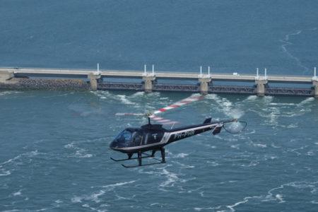 zeeland helikoptervlucht