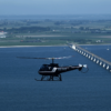 helikoptervlucht over zeeland
