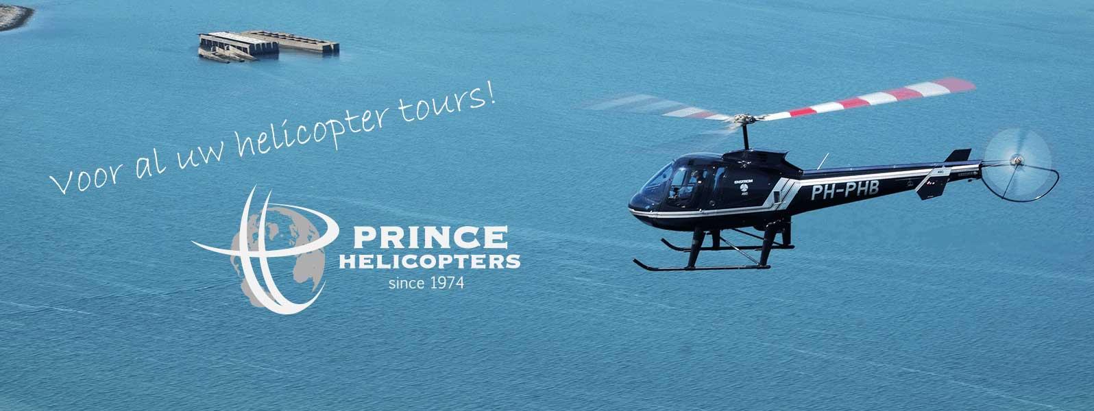 helikoptervlucht over nederland