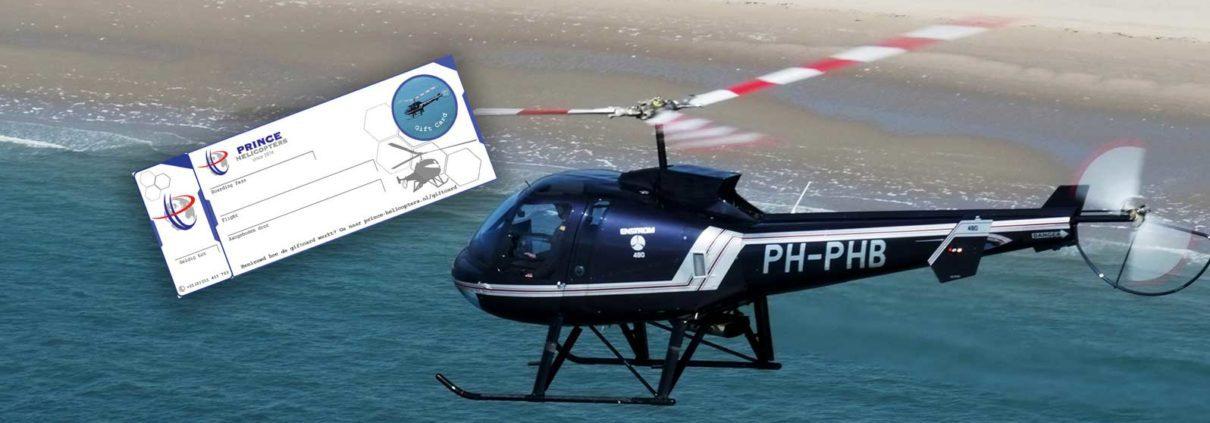 helikopter kadobon